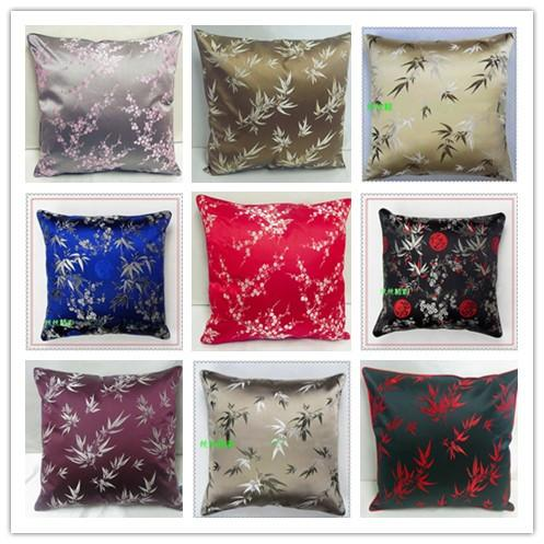 Bamboo Double Design Pillow Cases Classic High Quality Stylish Luxury Damask Zip Cushion Covers for Seat Chair Sofa Office Home Decorative Silver Cushion ... & Bamboo Double Design Pillow Cases Classic High Quality Stylish ... pillowsntoast.com