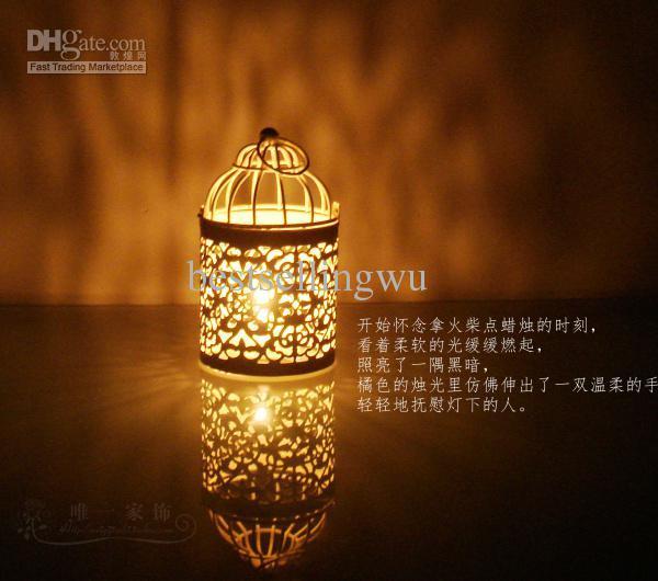 Bird Cage Candle Holders Weddings Lantern Iron Candle Holder Round Shape Candle Holder Wedding Favors Home