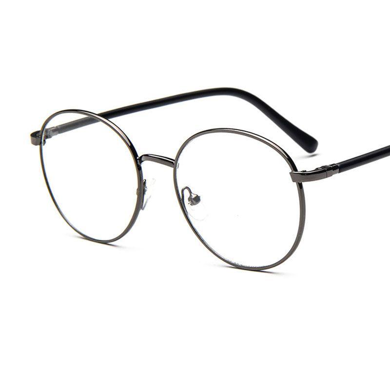 2017 2016 classic retro round metal frame glasses 9723 myopia plain mirror prescription eyewearwholesale from rxds2015 4312 dhgatecom