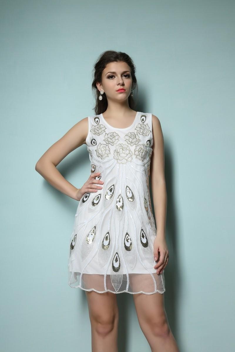 Contemporary 1920s Prom Dress Elaboration - All Wedding Dresses ...