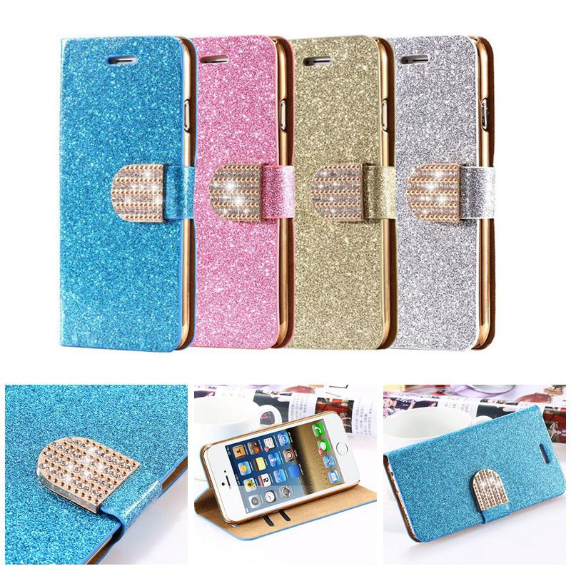 ... Leather Wallet Case For Galaxy S5/S4/ Bling case iPhone 6 /5s/4s/ 6s