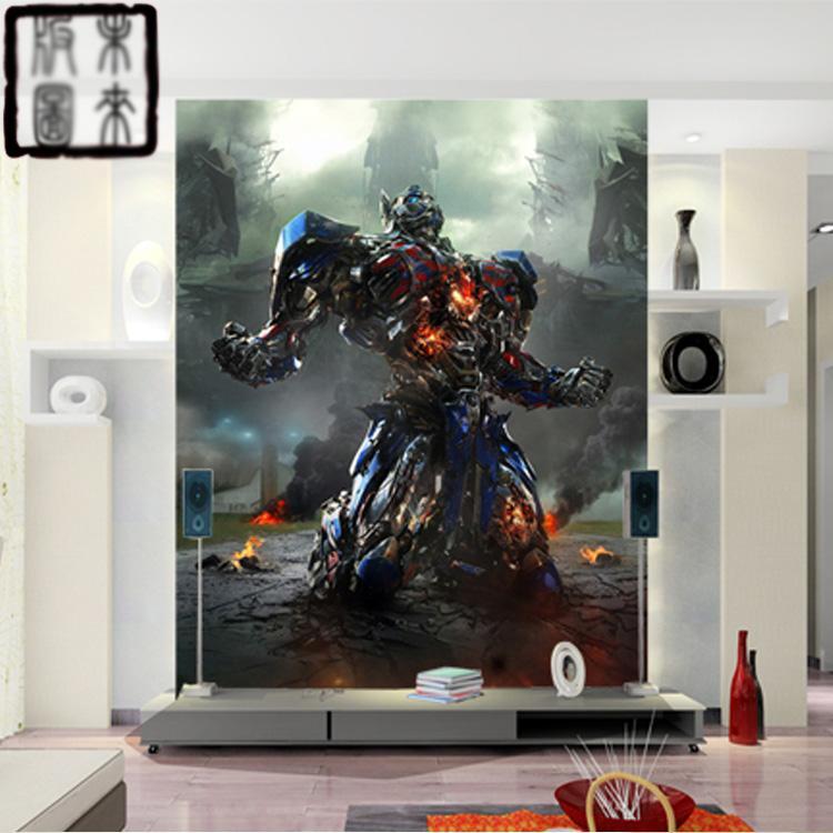 transformers giant photo optimus prime wallpaper 3d wall