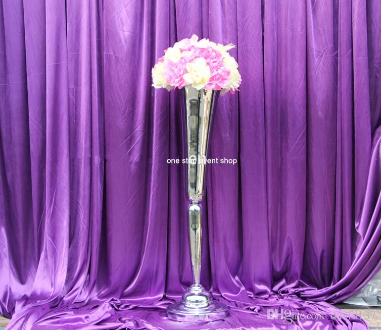 Glass Centerpiece Stands : China tall mental centerpiece vases and wedding