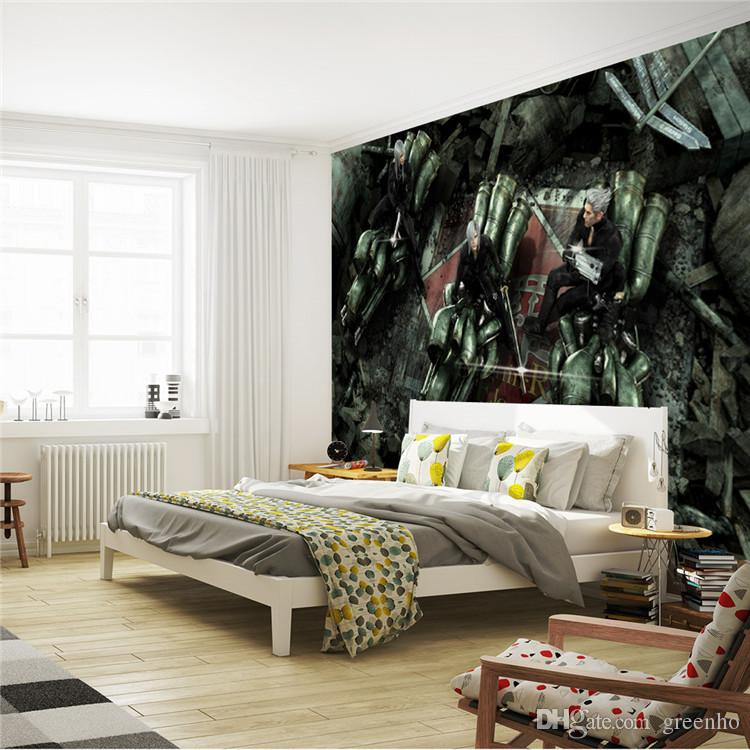 Custom Wall Mural Final Fantasy Photo Wallpaper Japan Game Large Art Home Decor Kid Bedroom Hallway Living Room Decoration