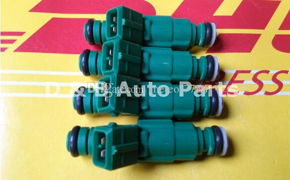 4pcs / Set 440cc Green Top High Impedance Fuel Injectors 0280155968 0280 155 968 Jets For Volvo