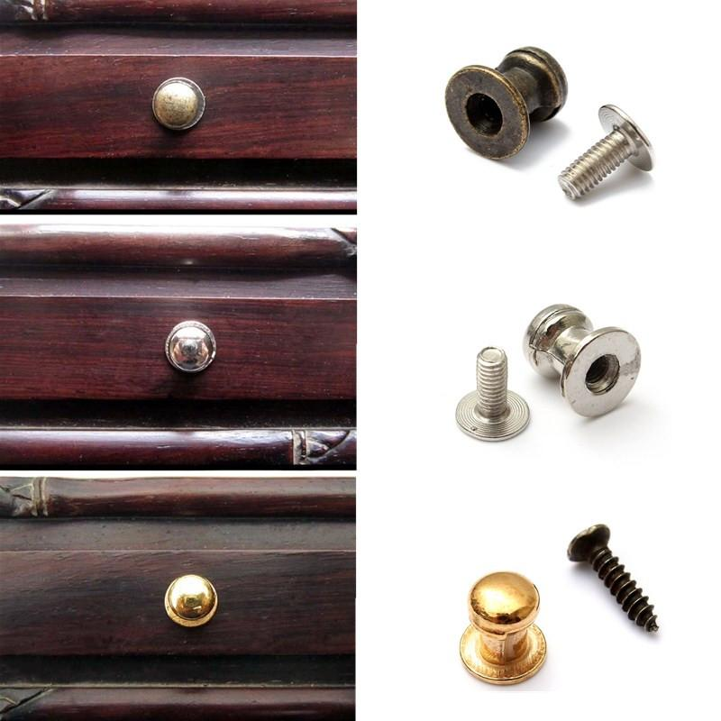 low price decorative mini jewelry box chest case drawer cabinet door pull knob handle - Cabinet Door Pulls