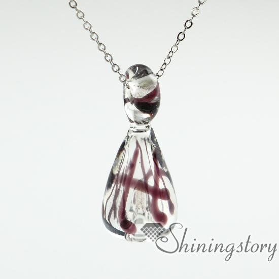 wholesale glass urn necklace urn necklace uk cremation urn