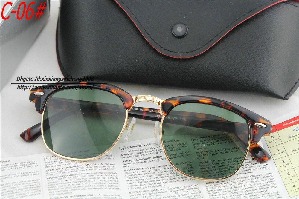 Gold Frame Sunglasses For Men Wholesale 2014 New Retro Fashion Black Gold Frame Sunglasses Men And Womens