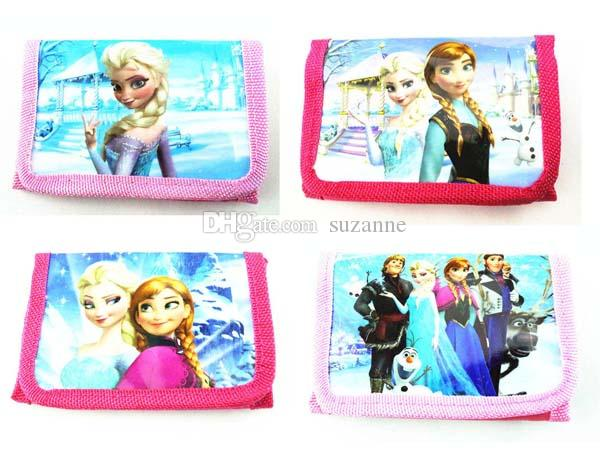 Wholesale 12pcs Cartoon Girls' bags Handbag wallet Purses 1 zip free shipping