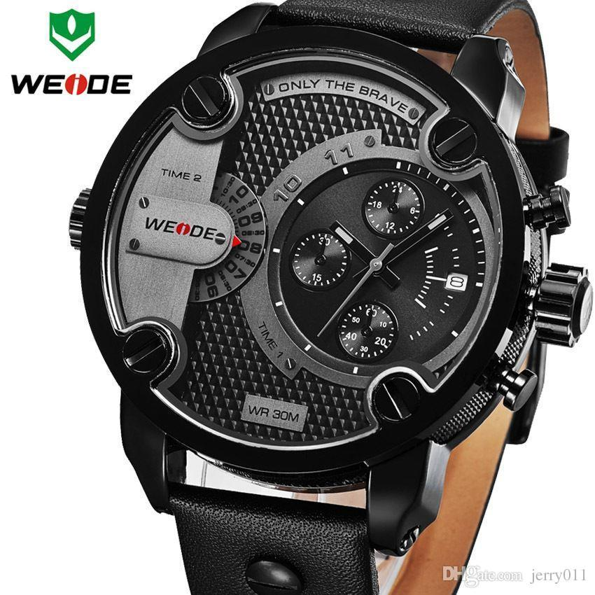 watches men 2016 new weide luxury brand quartz dual time oversize see larger image
