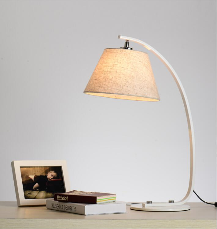 men bedroom desk modern creative desk lamps cloth art table lamp black white desk