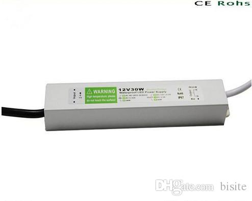 30W LED Light Driver Transformateurs de tension constante étanche IP67 Alimentat