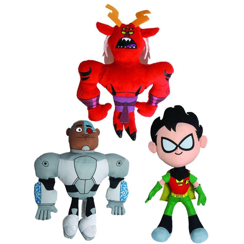 Teen Titan Character Toys : Inch teen titans go series robin cyborg trigon