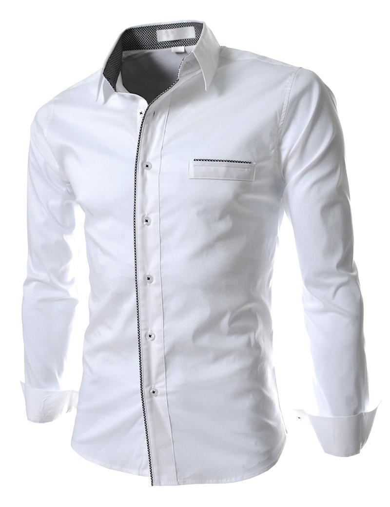 Shirt design for mens - Discount New Spring Autumn Casual Shirts Men Fashion Stand Collar Discount New Spring Autumn Casual Shirts Men Fashion Stand Collar