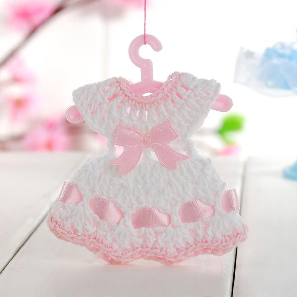 mini baby toy dress doll clothes for baby shower party favor gift