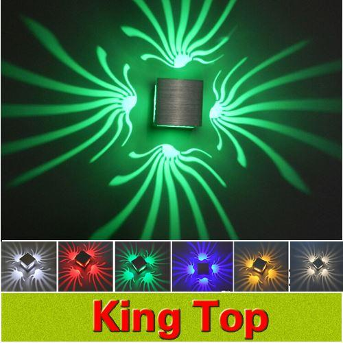 100 Aluminum Original Led Wall Lamp For Home Decoration Lighting New Rgb Colour With Modern