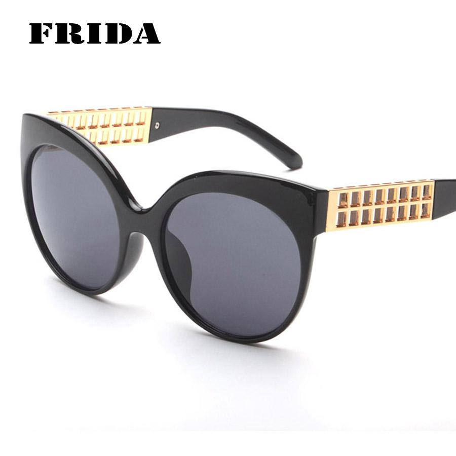 new sunglasses design  Frida New Brand Design Woman Sunglasses 2016 Man Women Large Frame ...