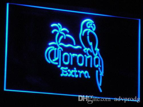 a108 7 couleurs Corona Beer Open Bar Pub Club de Neon Light Signs gros Dropshipp