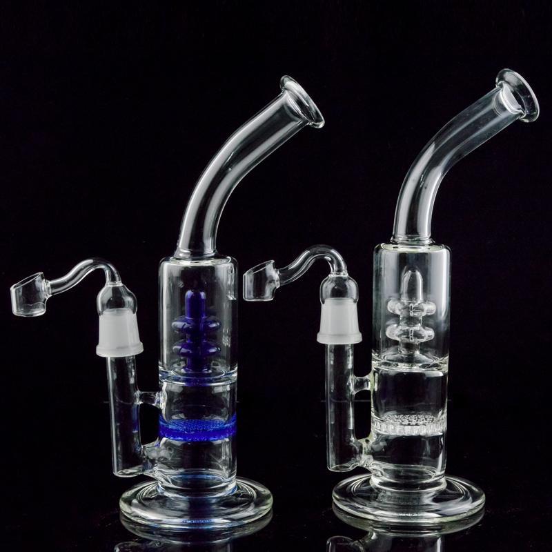 Water Pipes Bongs Bubbler Turbine Percolator Blue Honeycomb Perc ...