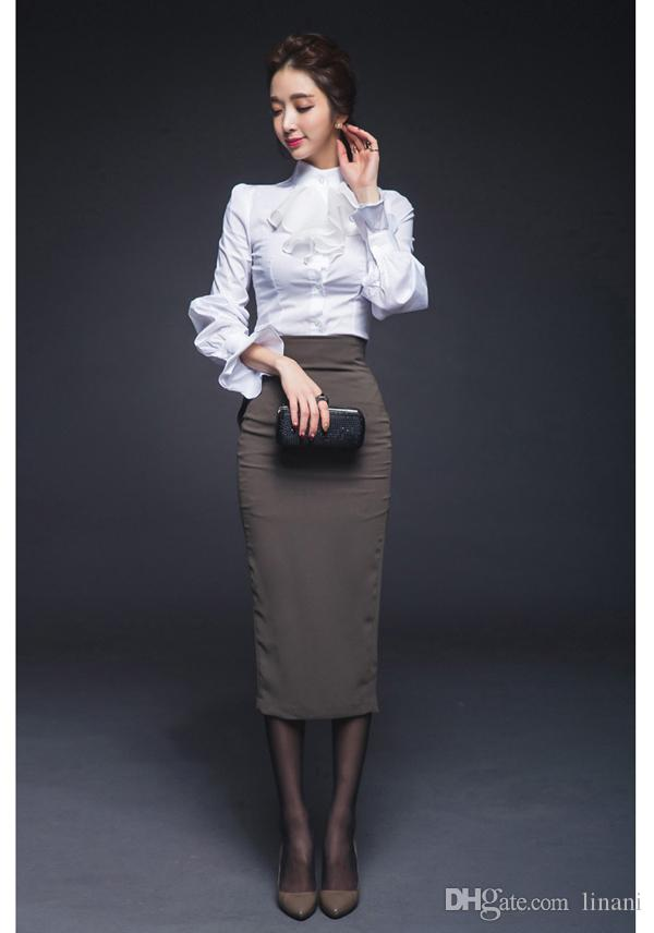 Creative Business Women Suits Blouse And Pants Formal Pantsuits Work Wear Suits