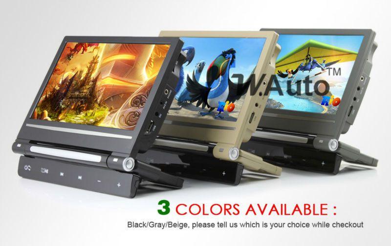 9 inch Car DVD player Headrest DVD Box support DVD MP5 MP4 MP3 USB SD Card IR Transmit FM Transmit Games dvd automotivo