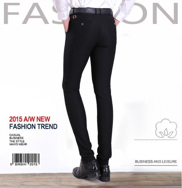 2017 Sale!2015 Men Pants Fall Winter Mens Corduroy Pants Slim Fit ...