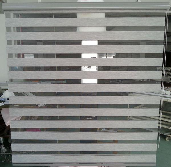 Custom Made Roller Zebra Blinds Light Filtering Sheer Shade In Grey Curtains For Living Room Available Ikea Curtians