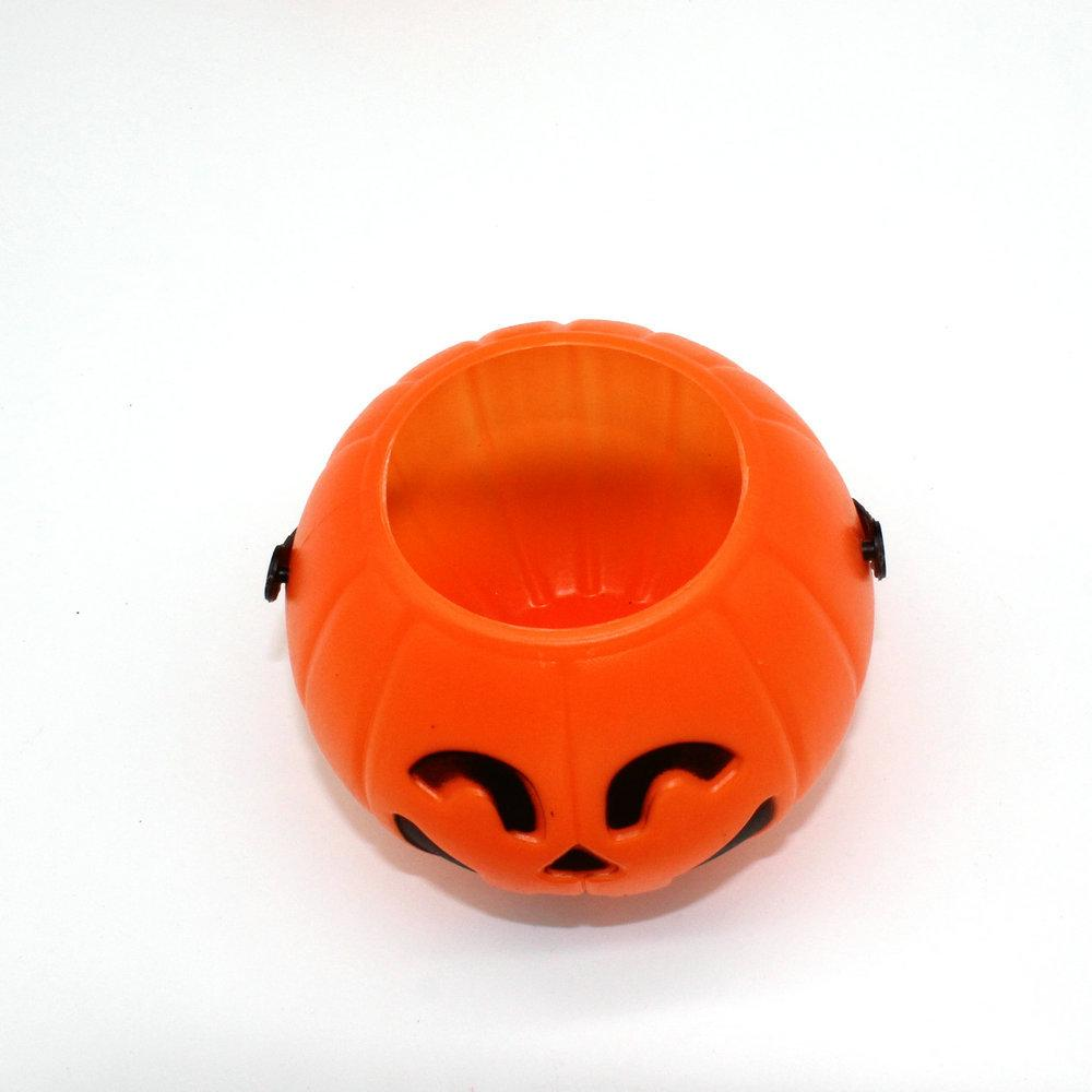 Halloween Vintage Bar Pumpkin Lantern Light Goodie Bucke Party ...
