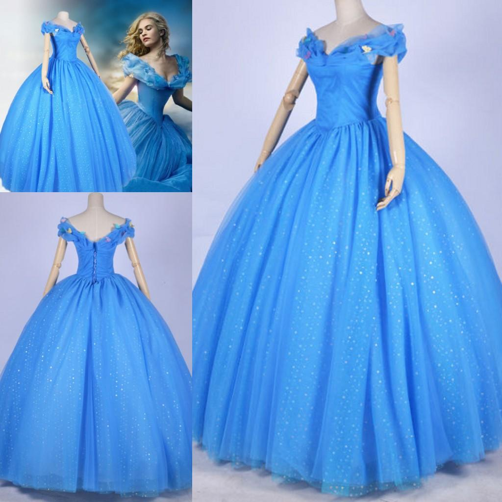 2015 newest cinderella wedding dress famous cinderella movie 2015 newest cinderella wedding dress famous cinderella movie cosplay ball gown costume cinderella movie dress dreamy appliqued bridal gowns ball gown ombrellifo Images