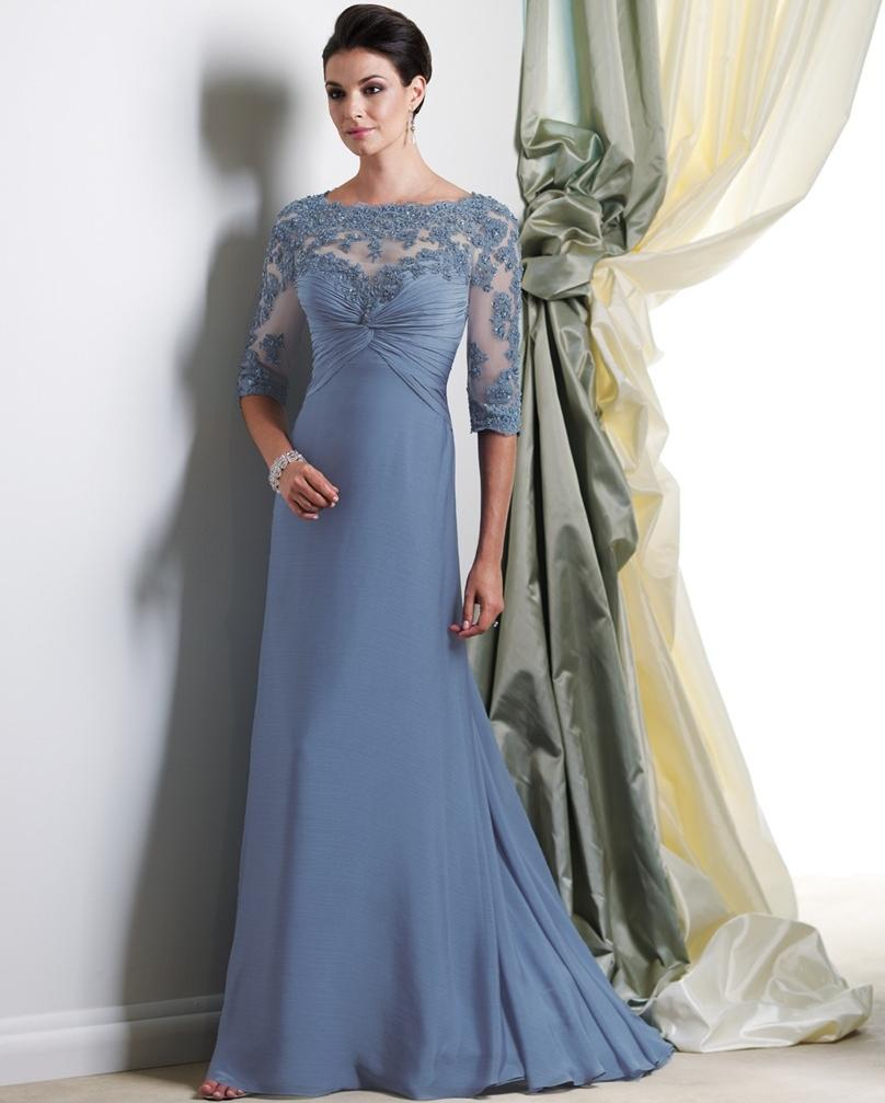 Full Length Gowns Dress For Mother Of The Bride Lace Dresses ...