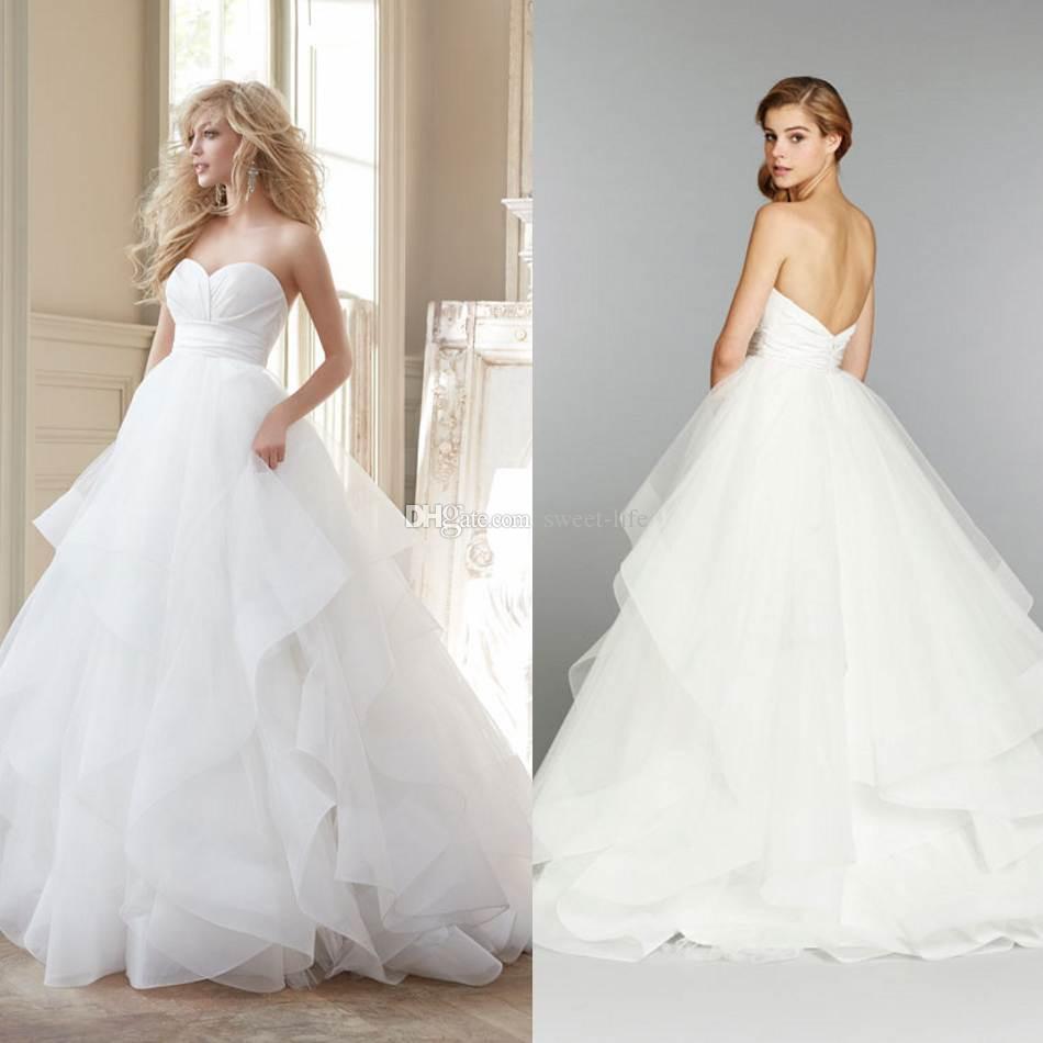 Robes de mode les robes blanches de mariage 2015 for Robes de mariage de juin