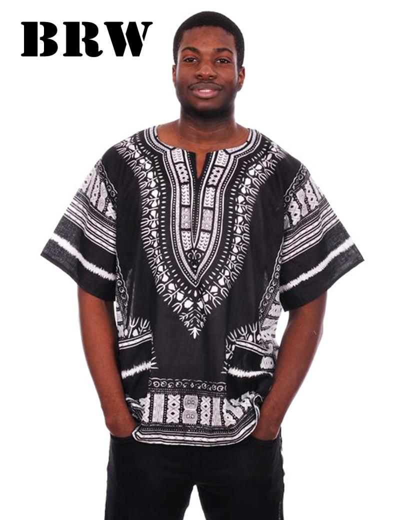 2017 tailor made t shirt wax print dashiki for african man for Cost to tailor a shirt