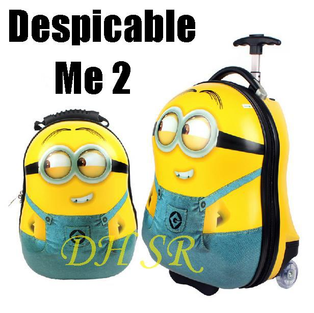 Dh Sr Id033 Minions Backpacks School Bags Despicable Me Children ...