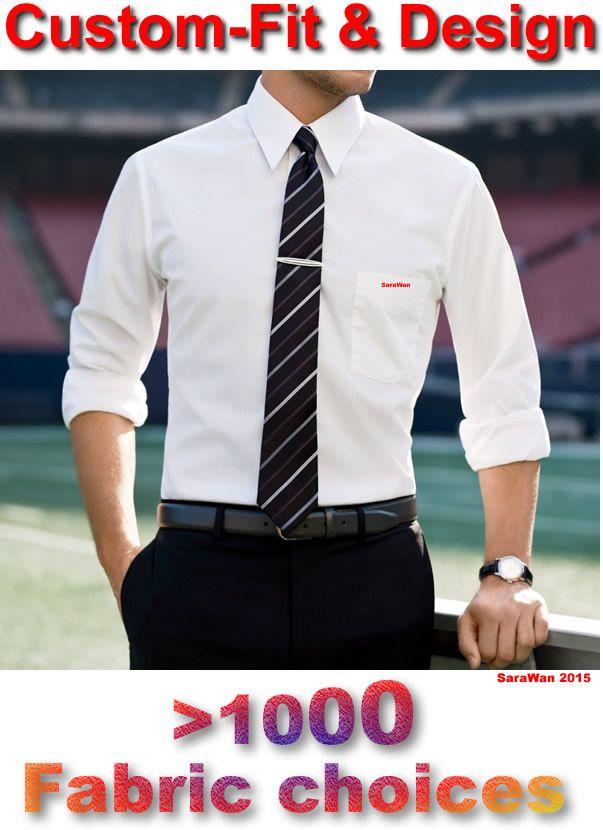 Best mens dress shirts custom made dress shirt white long for Best custom made dress shirts online