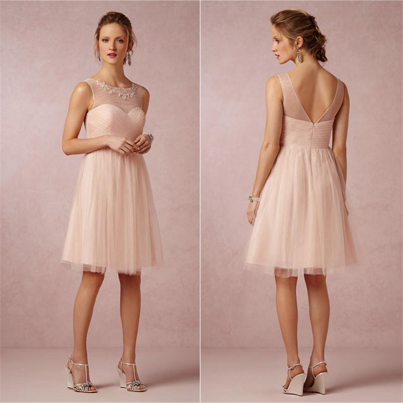 2015 short bridesmaid dresses cheap under 100 knee length for Short cheap wedding dresses under 100