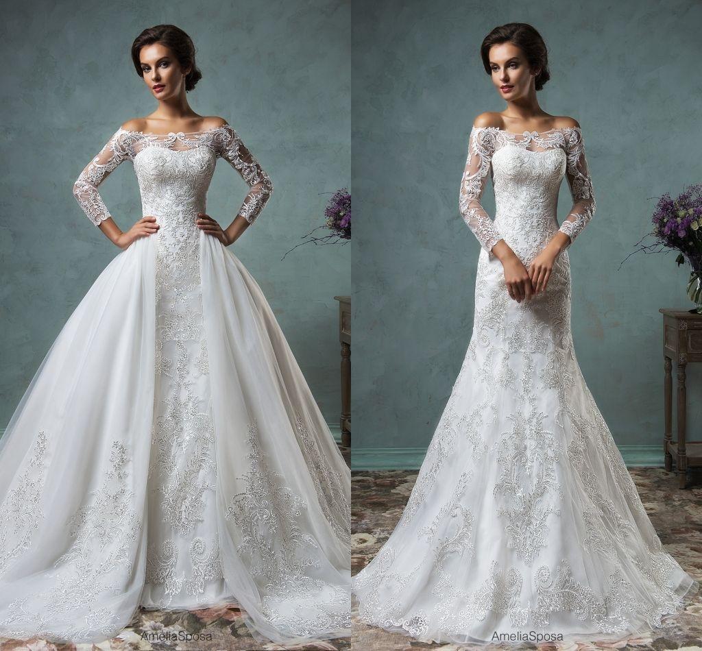 Amelia Sposa 2016 y Muslim Wedding Dresses With