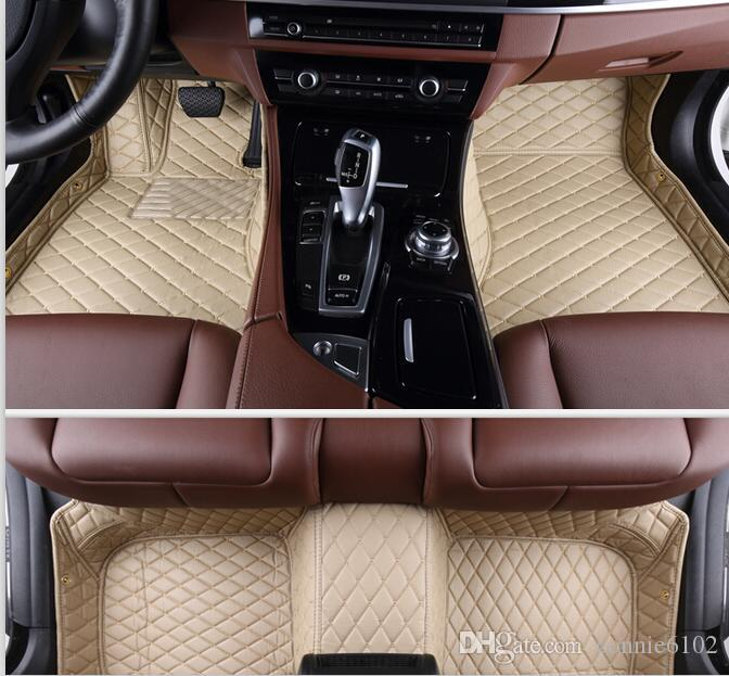 Good quality! Custom special floor mats for Mercedes Benz C 250 W204 2013-2007 waterproof Easy to clean carpets for C250 2009,Free shipping