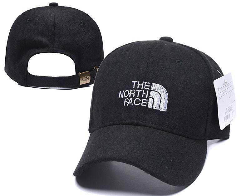 2020 clásico de golf The North Face visera curvada sombreros del Snapback de la vendimia casquillo casquillos ajustables Polo Sport sombrero del papá del béisbol de alta calidad de los hombres 00