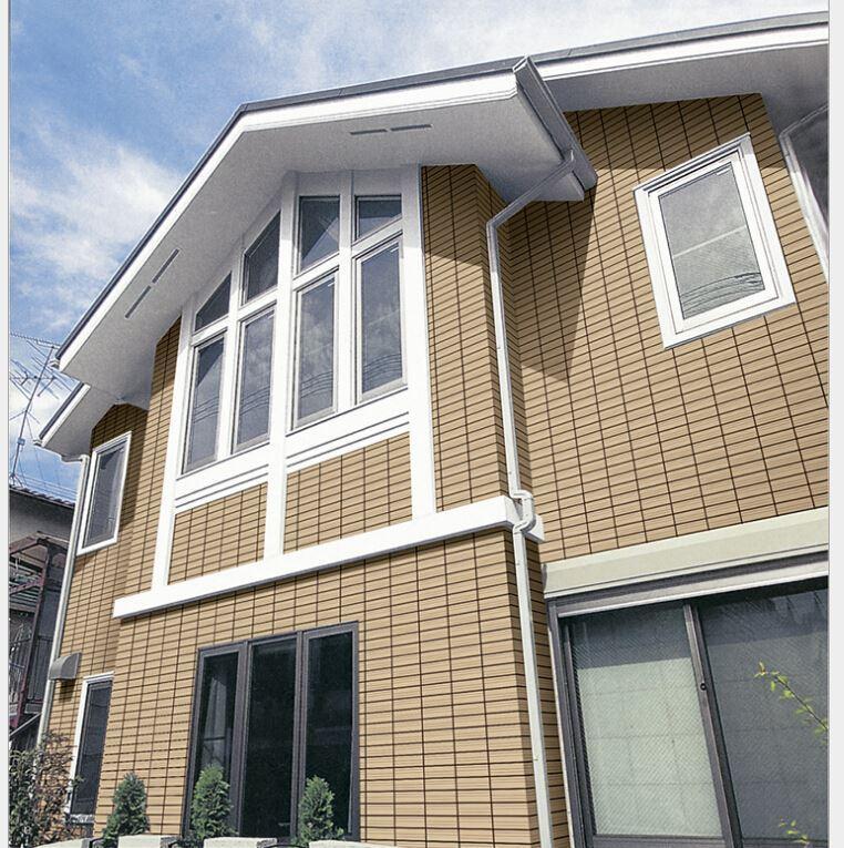 Exterior Tile Wall Installation - Home Design Ideas