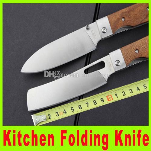 2015 kitchen knife folding knife wooden handle kitchen