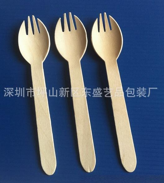 disposable wooden flatware 2