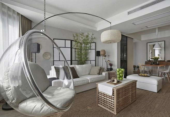 See larger imageChair  Bubble Chair  Indoor Swing Chair  Space Sofa  Transparent  . Living Room Swing. Home Design Ideas