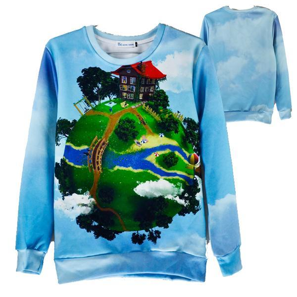 painting men womens hoodies and sweatshirts printed 3d pullovers