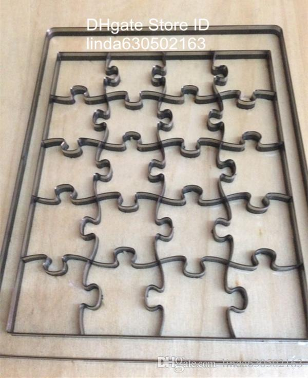 2017 custom jigsaw puzzle steel rule cutting dies making for Puzzle cutting board plans