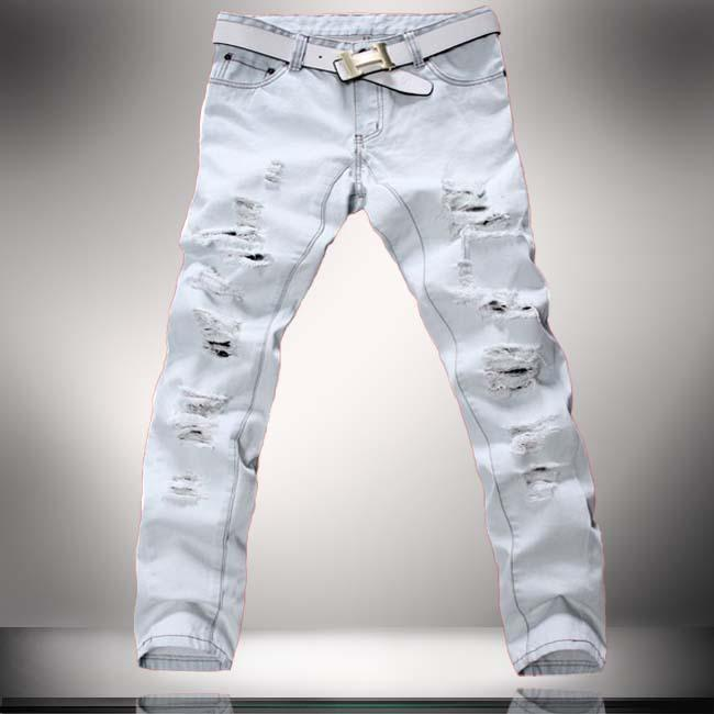 white boys jeans - Jean Yu Beauty