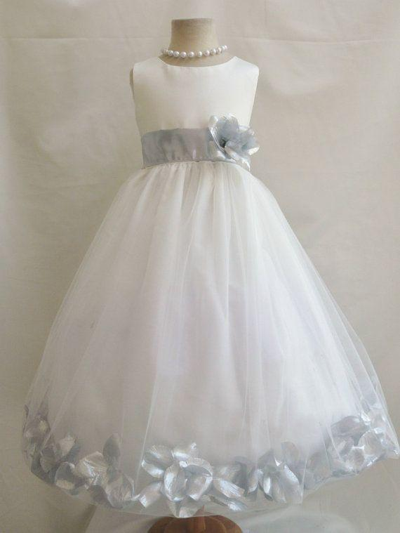 Y Neck Flower Girl Dresses 56