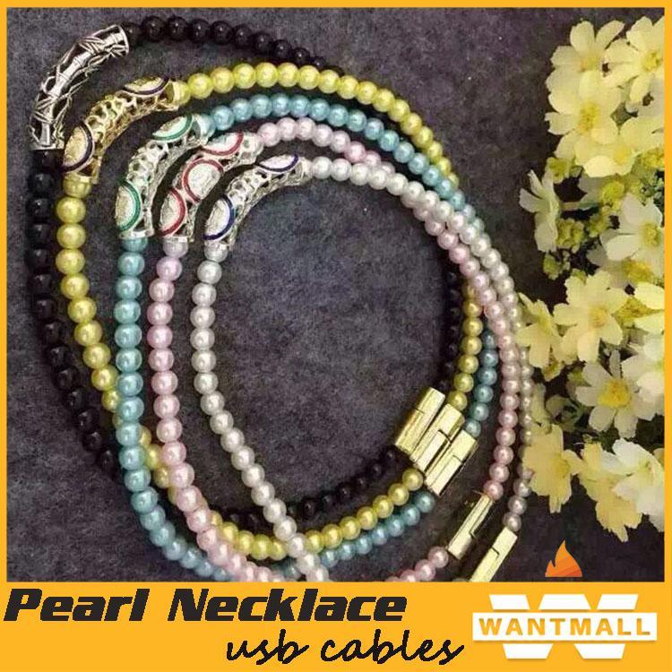 Grosir Necklace Diamond USB Cable Murah Jakarta