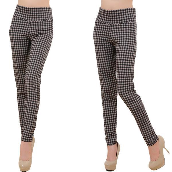 2017 New High Quality Khaki Pants Capris High Waist Pants Women ...