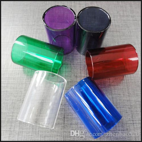 New colorful replaceable pyrex glass tube spare for Simple glass tubes
