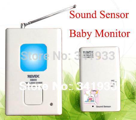 best hot baby care products 200m high sensitivity audio wireless baby monitor by sound sensor. Black Bedroom Furniture Sets. Home Design Ideas